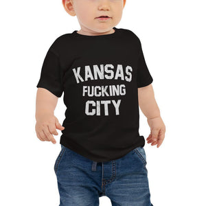 Commandeer Brand Kansas F*cking City Baby Tee