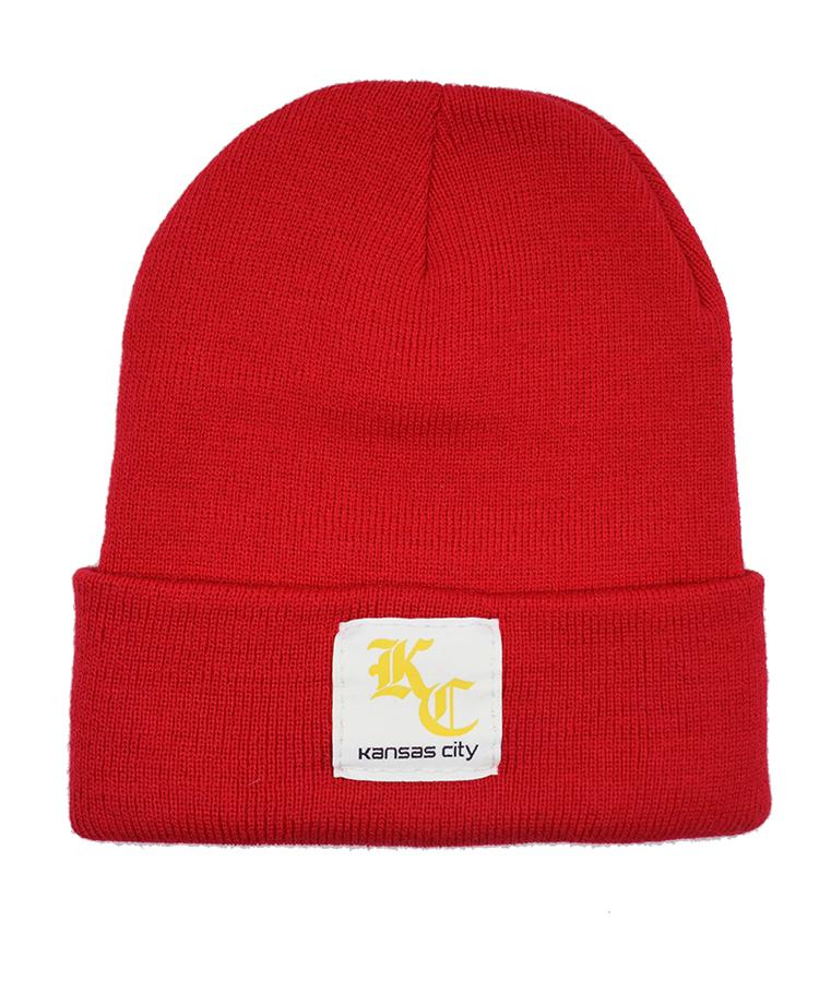 Commandeer Brand KC Hartt Beanie - Red