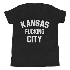 Commandeer Brand S Kansas F*cking City Youth Tee