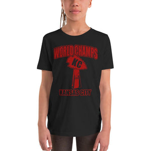 Commandeer Brand World Champs KC Youth Tee
