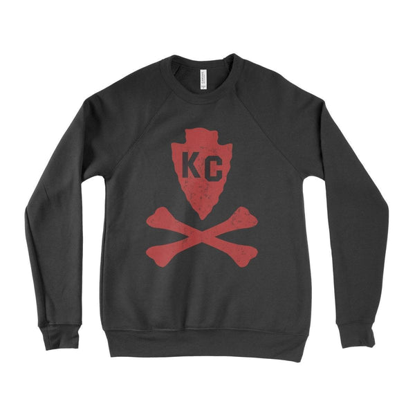Commandeer Clothing Arrowhead and Bones Sweatshirt