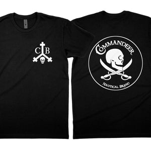 Commandeer Clothing Commandeer Brand Logo Tee