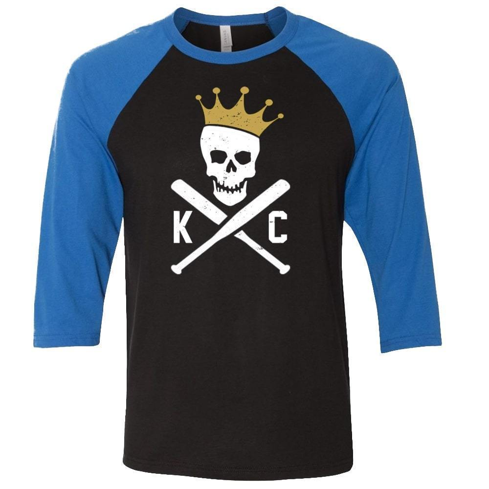 Commandeer Clothing Crossed Bats Baseball Tee