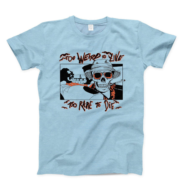Commandeer Clothing Fear and Loathing Tee - Gonzo Blue