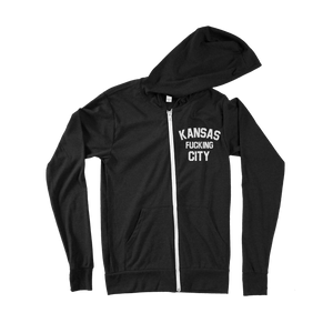 Commandeer Clothing Kansas F*cking City Zip Hoodie