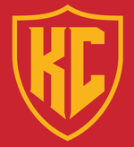 KC Shield Tee - Red and Gold