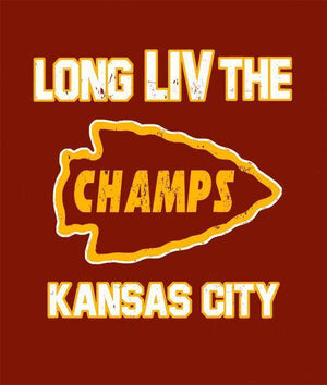 Commandeer Clothing Long LIV The Champs Hoodie