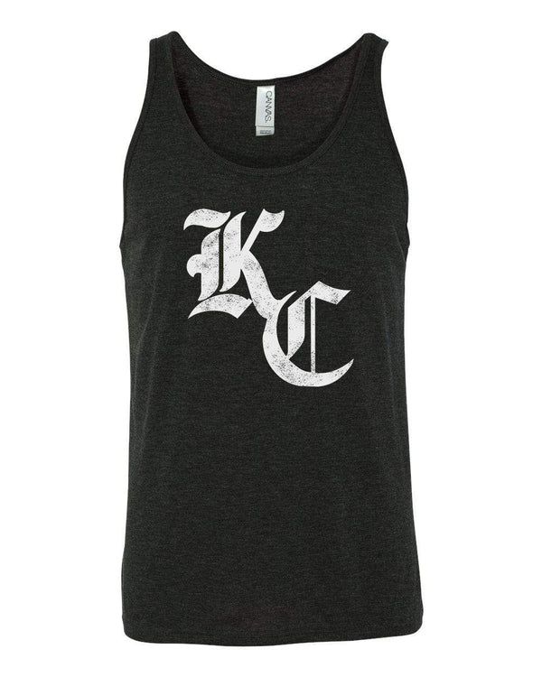 Commandeer Clothing Olde KC Unisex Tank - Black