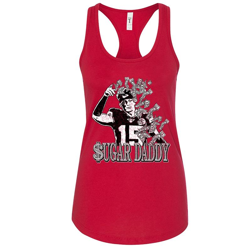 Sugar Daddy Women's Racerback Tank