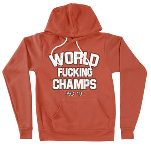 Commandeer Clothing World F*cking Champs Hoodie