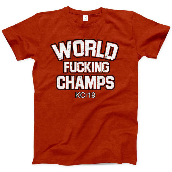 Commandeer Clothing World F*cking Champs Tee