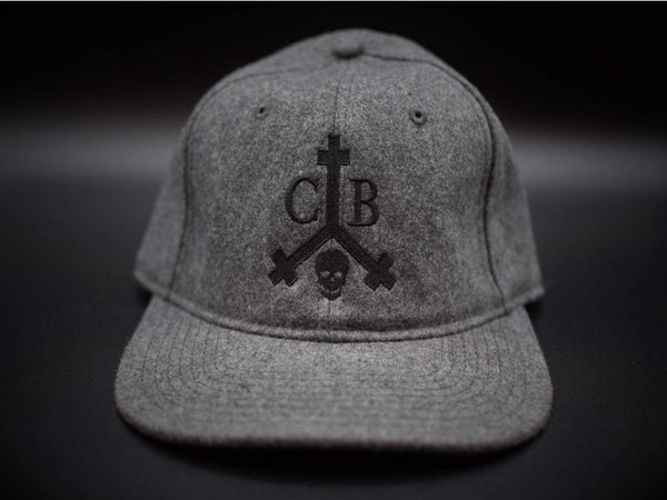 Commandeer Headwear Brand Logo Wool Blend Hat