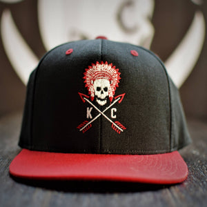 Commandeer Headwear Crossed Arrows Flatbill Snapback