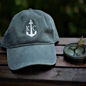 Commandeer Headwear KC Boat Hat - Weathered Black