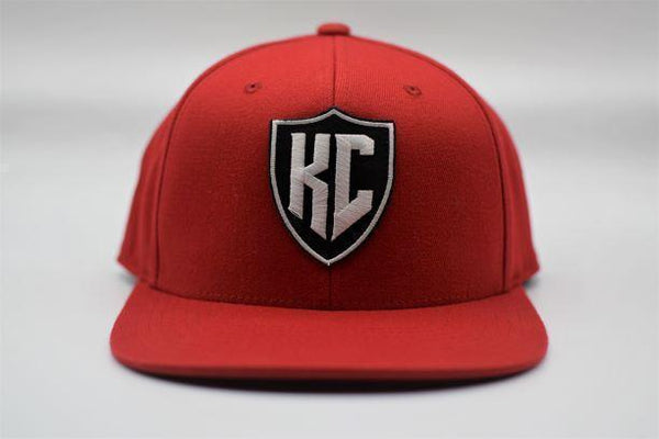 Commandeer Headwear KC Shield Snapback - Red