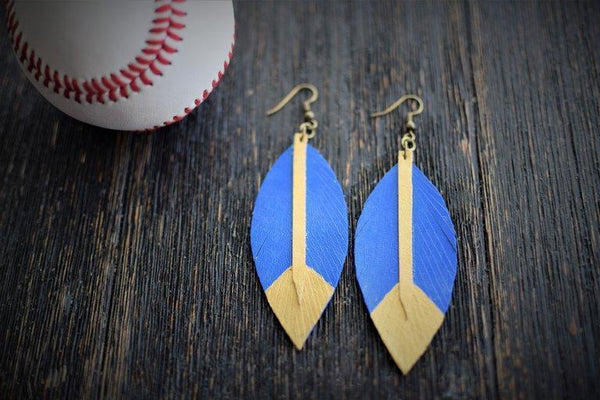 Commandeer Jewelry Royal Feather Earrings
