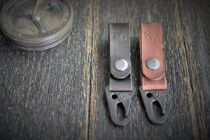 Commandeer Leather Goods Hold Fast Key Fob