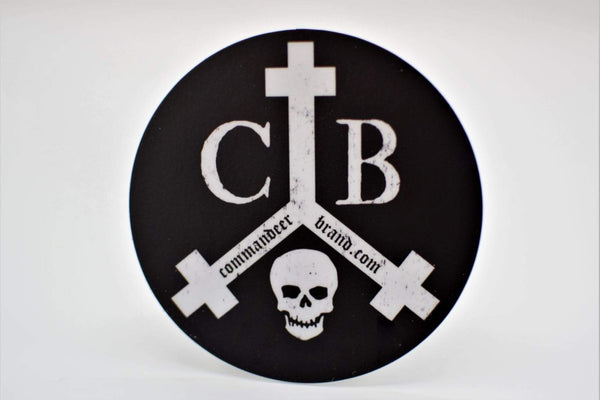 CommandeerBrand Accessories Brand Logo Vinyl Sticker