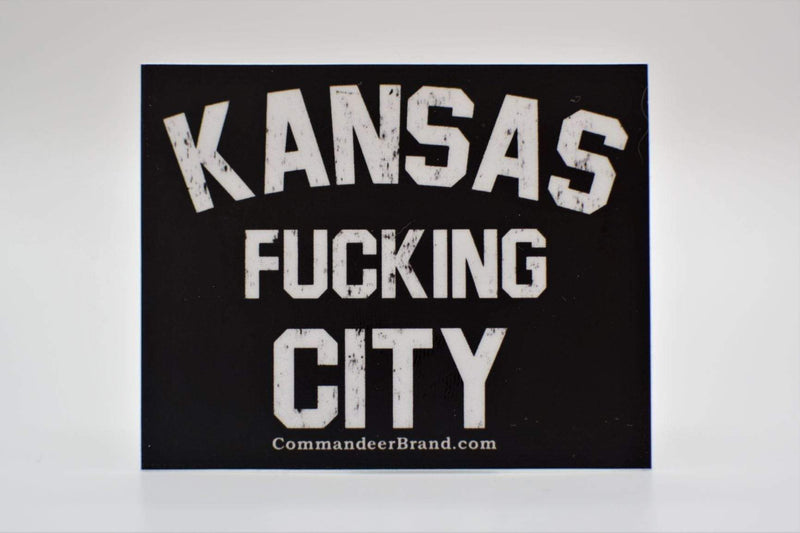 Kansas F*cking City Vinyl Sticker