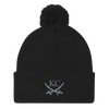 KC Crossed Swords Pom Beanie
