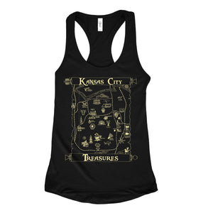 CommandeerBrand KC Treasures Women's Racerback Tank
