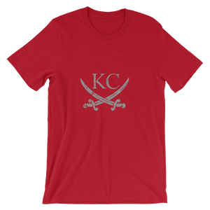 CommandeerBrand Red / S KC Crossed Swords T-Shirt