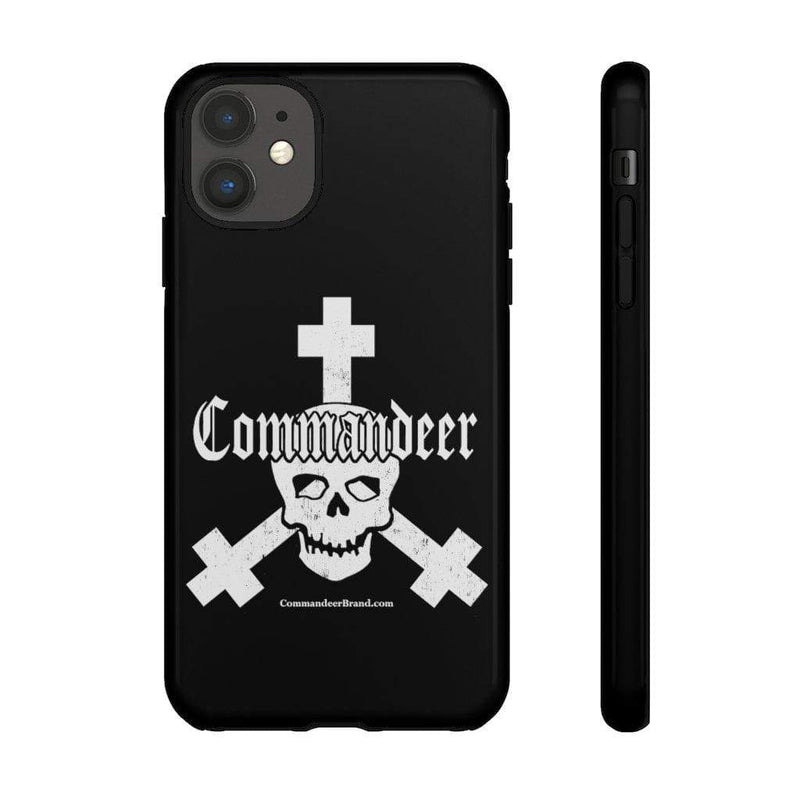 Printify Phone Case iPhone 11 / Glossy Commandeer Brand Logo Phone Case