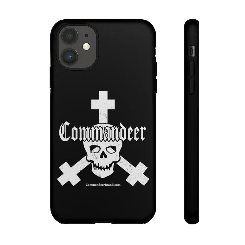 Printify Phone Case iPhone 11 / Matte Commandeer Brand Logo Phone Case