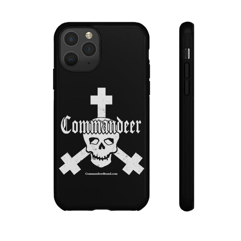 Printify Phone Case iPhone 11 Pro / Glossy Commandeer Brand Logo Phone Case