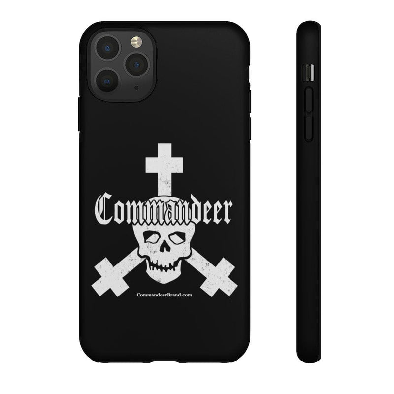 Printify Phone Case iPhone 11 Pro Max / Matte Commandeer Brand Logo Phone Case