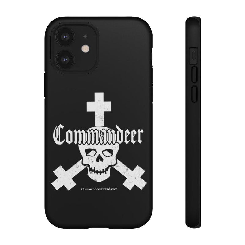 Printify Phone Case iPhone 12 / Matte Commandeer Brand Logo Phone Case
