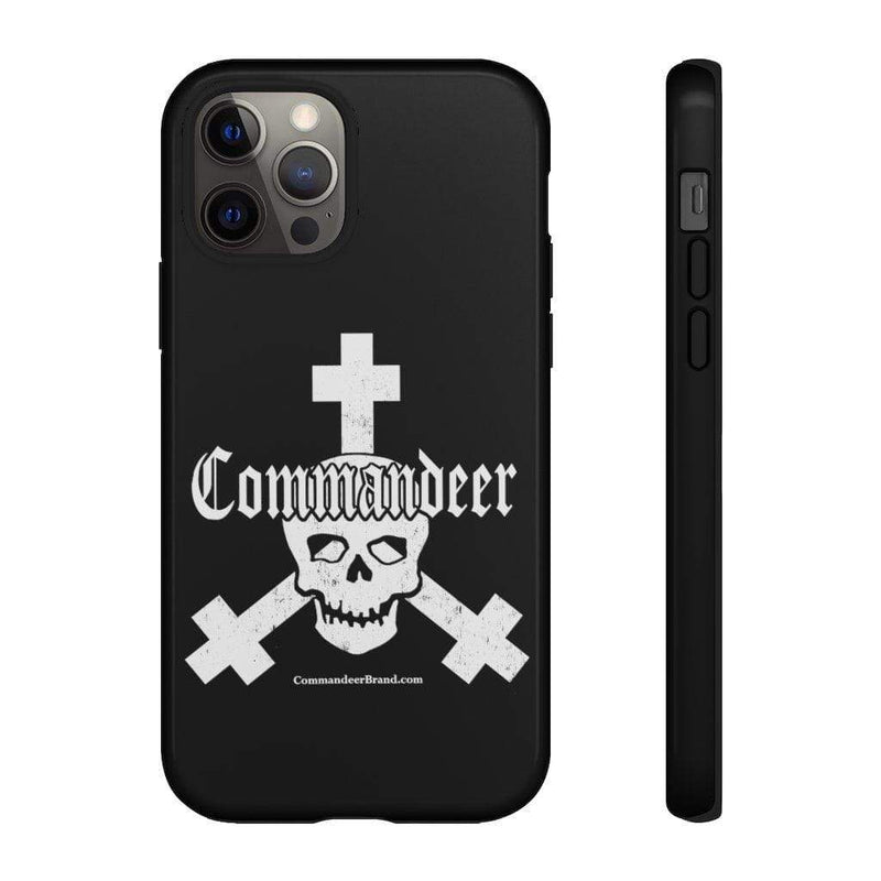 Printify Phone Case iPhone 12 Pro / Glossy Commandeer Brand Logo Phone Case