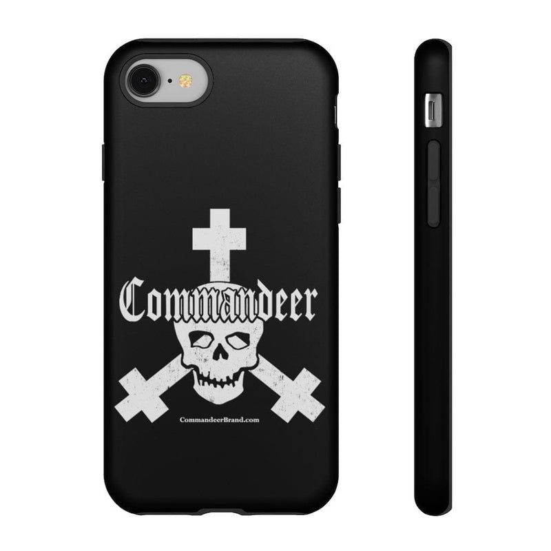 Printify Phone Case iPhone 8 / Matte Commandeer Brand Logo Phone Case