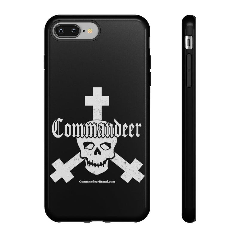 Printify Phone Case iPhone 8 Plus / Glossy Commandeer Brand Logo Phone Case