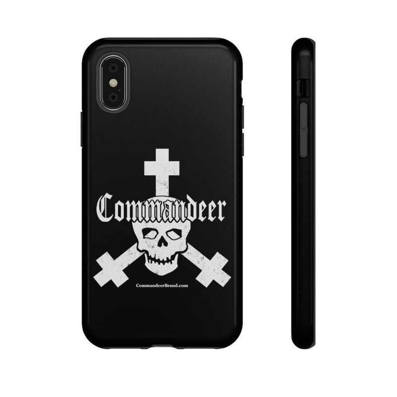 Printify Phone Case iPhone X / Glossy Commandeer Brand Logo Phone Case