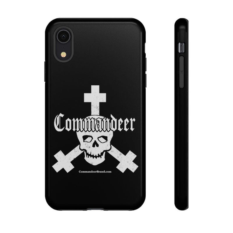 Printify Phone Case iPhone XR / Glossy Commandeer Brand Logo Phone Case