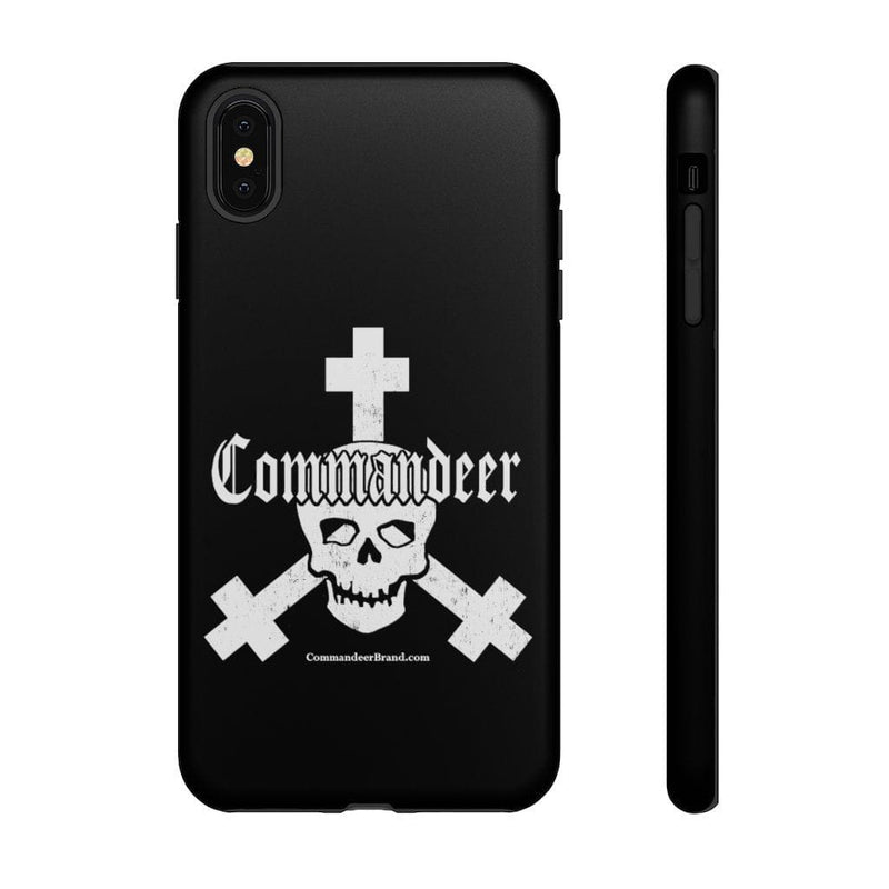Printify Phone Case iPhone XS MAX / Matte Commandeer Brand Logo Phone Case