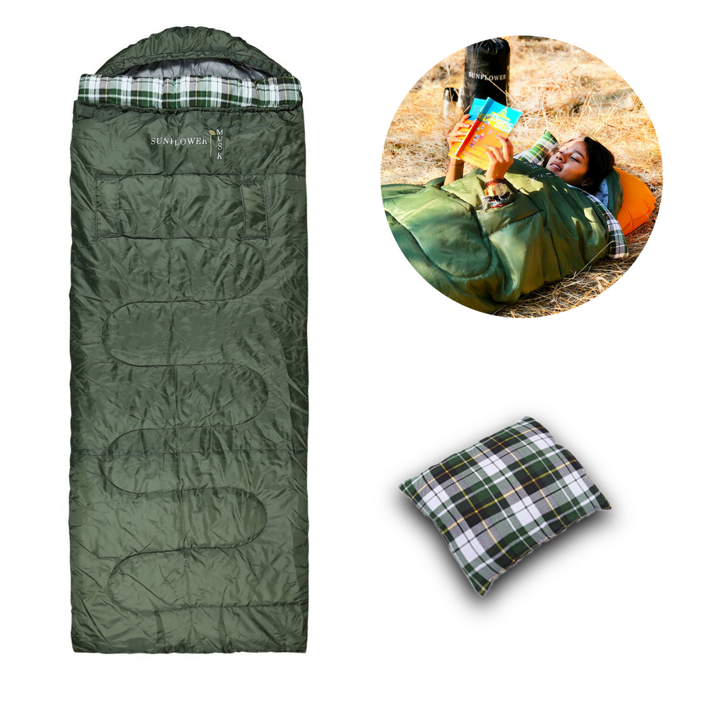 Sunflower Musk 4 Season Wearable Sleeping Bag