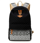 Canvas Vintage Bohemian Backpack - Sunflower Musk