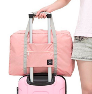 Lightweight Waterproof Foldable Carry-On Bag - Sunflower Musk