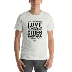 In Love with Cities Unisex T-Shirt - Sunflower Musk