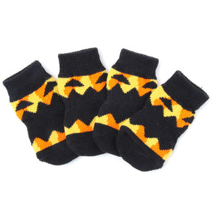 Lovely Soft Warm Pet's Knitted Socks - Sunflower Musk