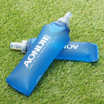 Foldable Blue Water Bottle - Sunflower Musk