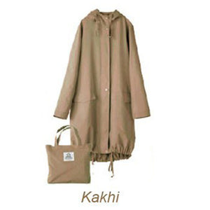 Chic Raincoat with Hood - Sunflower Musk