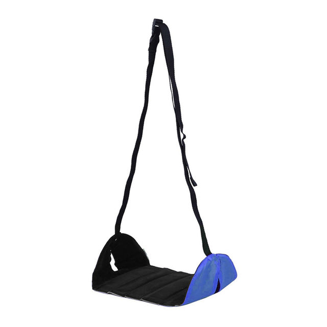 Portable Airplane Hanging Footrest - Sunflower Musk