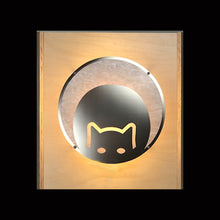 """Kitty Cup"" Wall Sconce"