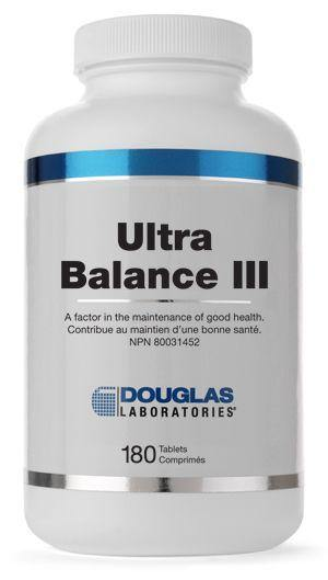 ULTRA BALANCE® III (TABLETS) - Holistic United