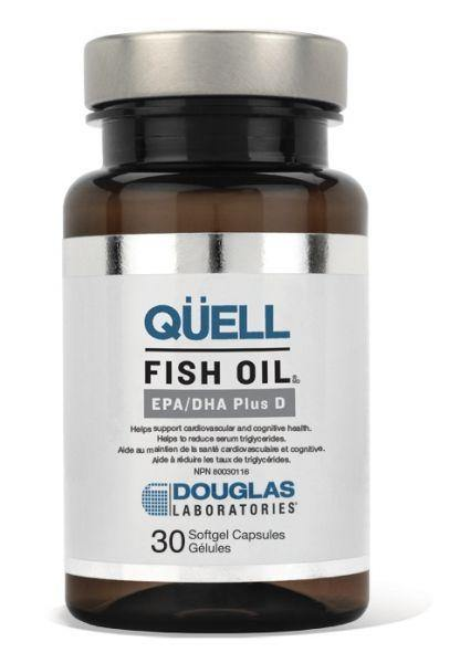 QÜELL FISH OIL® EPA/DHA PLUS D - Holistic United