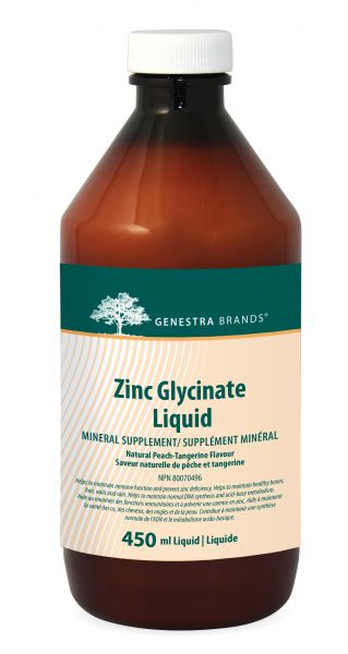 Zinc Glycinate Liquid - Holistic United