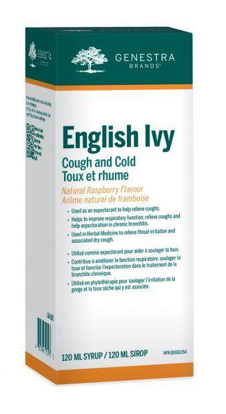 English Ivy Cough and Cold - Holistic United